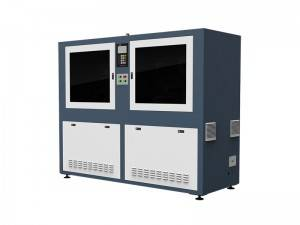 Automatic Laser Cutter with CCD Camera and Roll Feeder