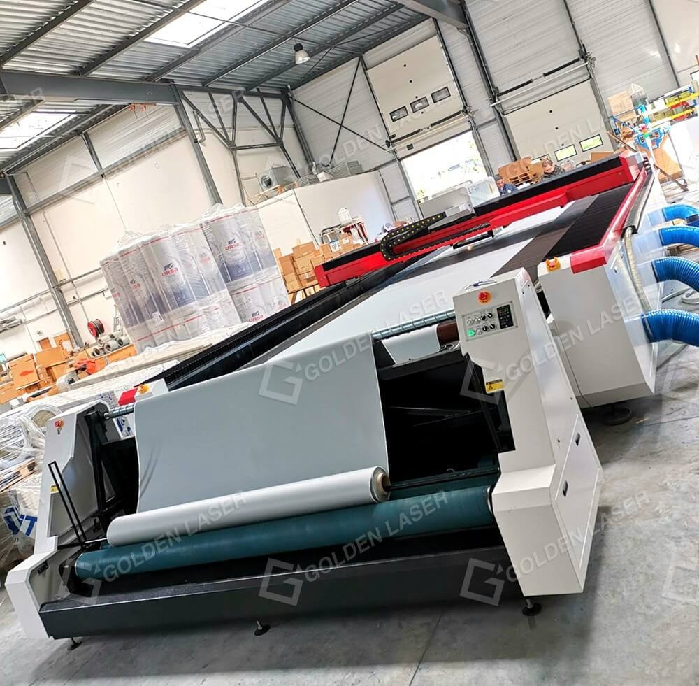 fabric duct laser cutter