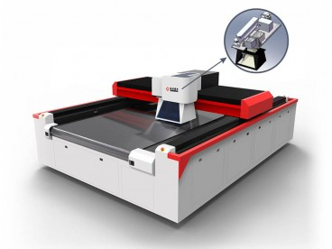 Galvo & Gantry Laser Engraving Cutting Machine for Textile, Leather