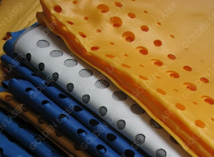 laser cutting fabric ducts