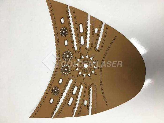 laser engraving cutting for shoe upper