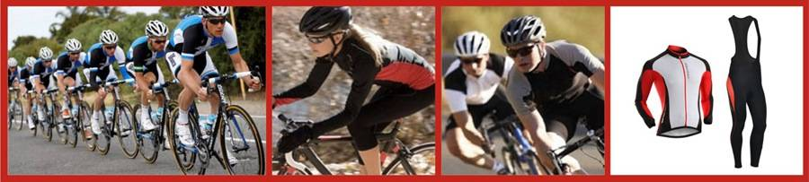 vision laser for cycling apparel